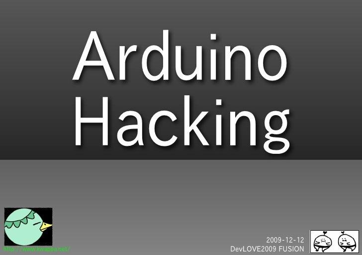 Arduino Hacking