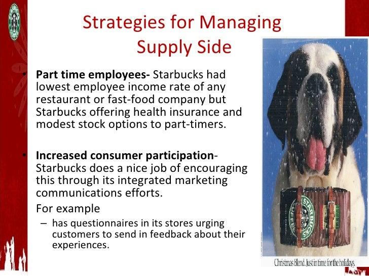 Does starbucks offer stock options