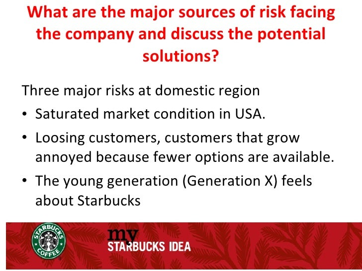 identify the controllable and uncontrollable elements that starbucks has encountered in entering glo Starbucks going global fast case study nbsp 1 identify the controllable and uncontrollable elements that has encountered in entering markets 2 what are major sources.