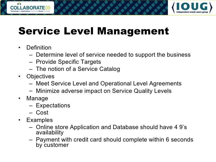 Service Level Agreement Template Training Providers