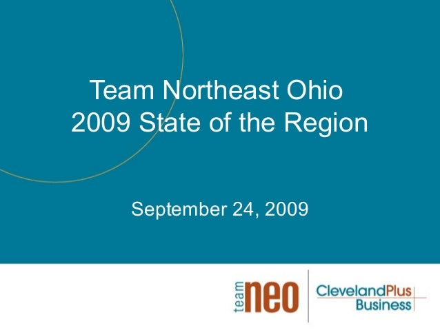 2009 Team NEO State of the Region Event