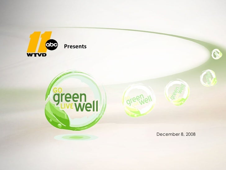2009 Go Green Live Well