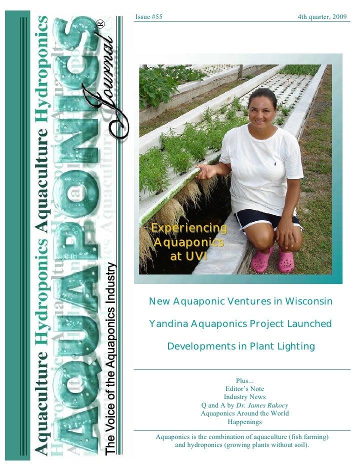 2009 aquaponics journal