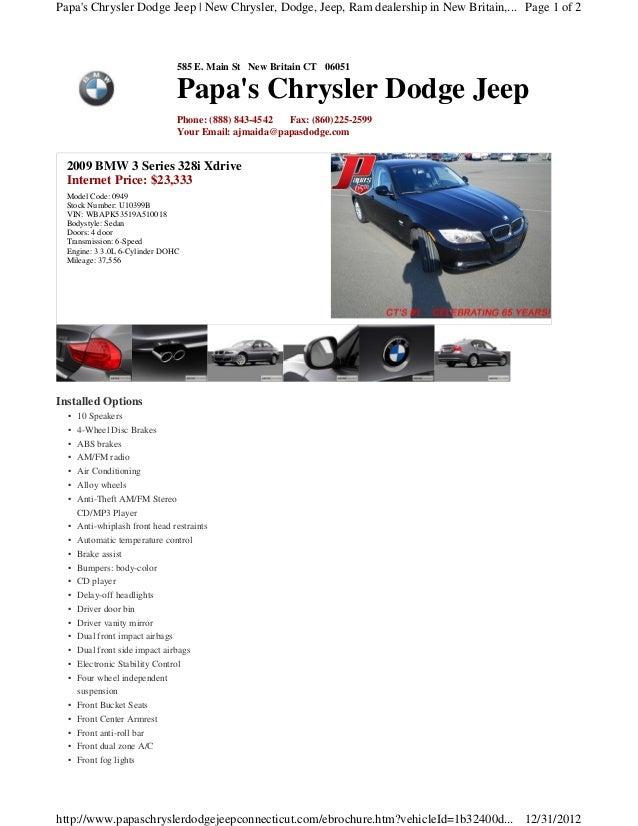2009 BMW 3 series x drive