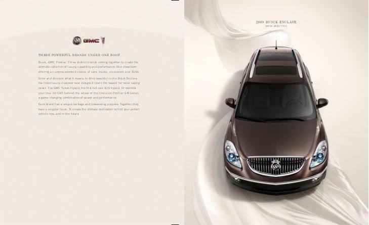 2009 Buick Enclave Brochure Hartford