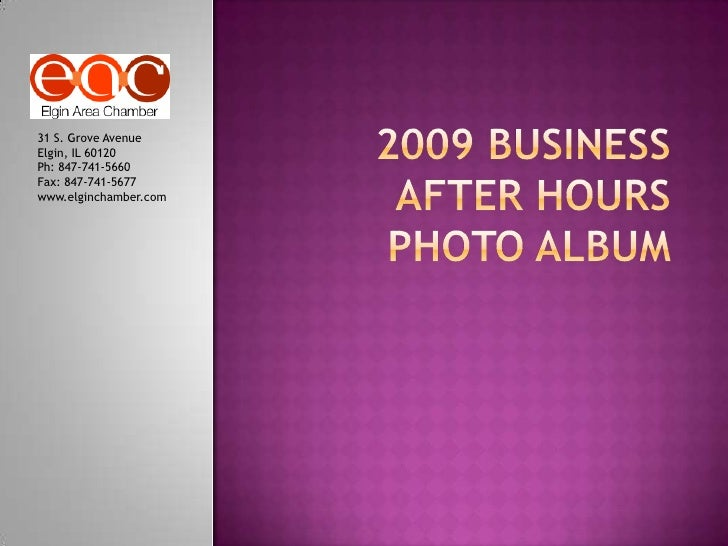 2009 Business After Hours Photo Album