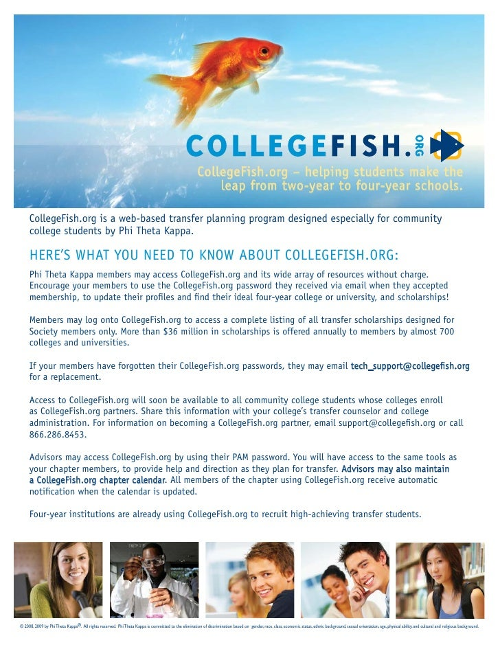 CollegeFish.org – helping students make the                                                                               ...