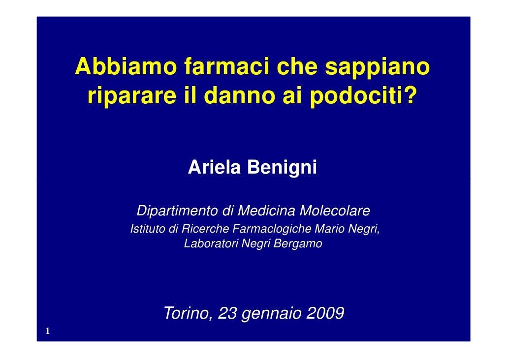 2009 Convegno Malattie Rare Benigni [23 01]