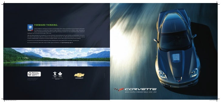 2009  Corvette  Brochure  Eng