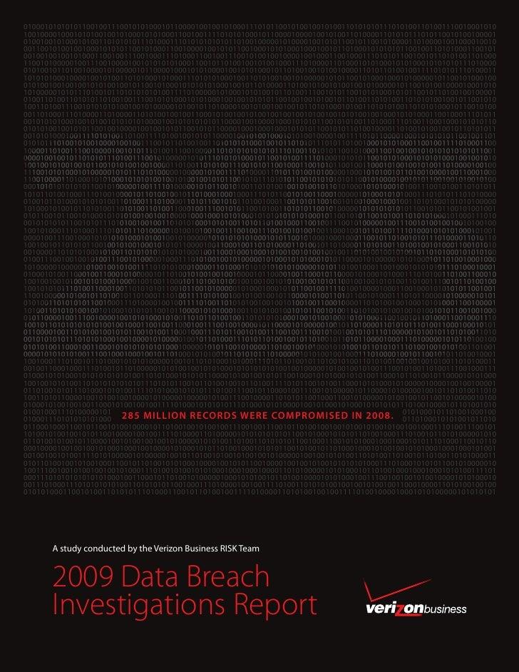 2009 Databreach Report
