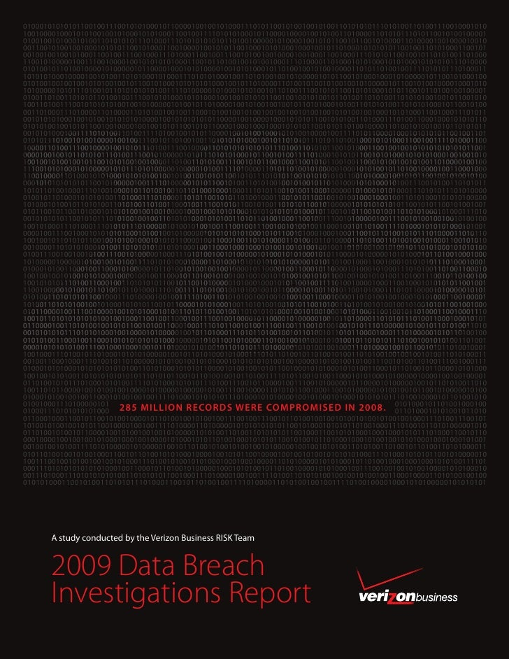 2009 Databreach Report