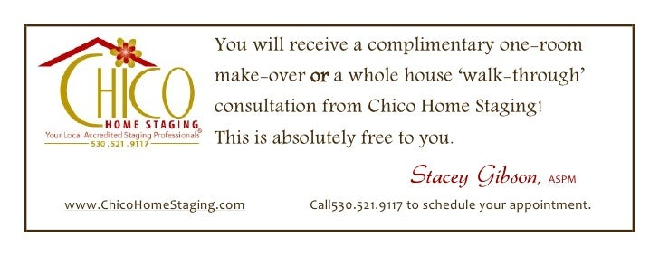 copyright 2009 Chico Home Staging<br />