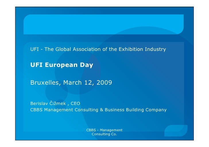 SME\'s and the Exhibition Industry today