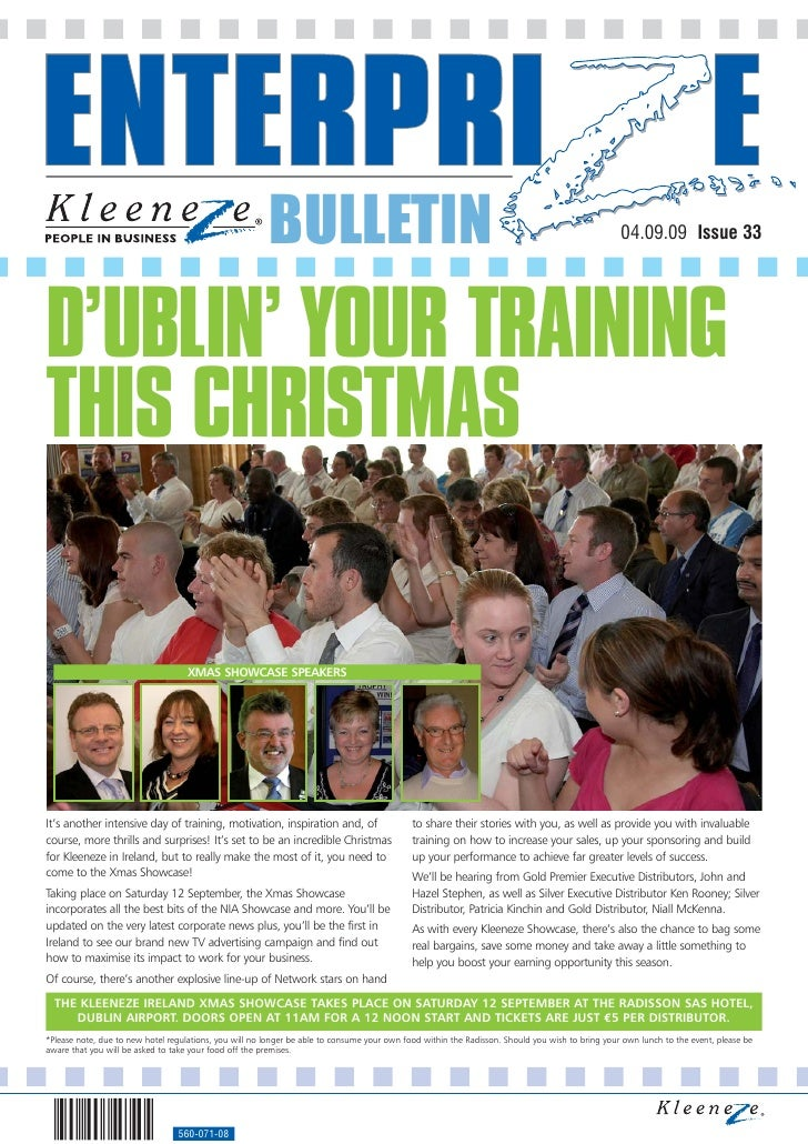 BULLETIN                                                                                  04.09.09 Issue 33     D'UBLIN' Y...