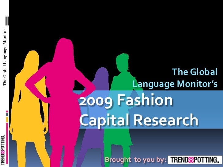 2009 Fashion Capital Media Research  #NYFashion