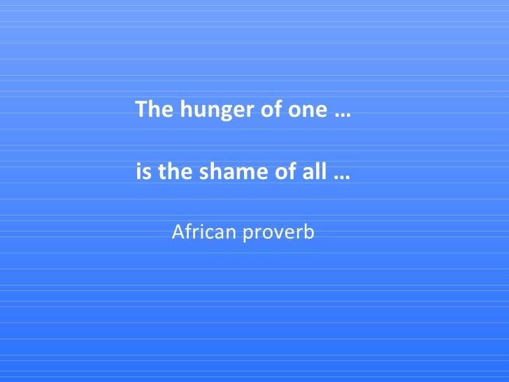 Global Hunger Index 2009