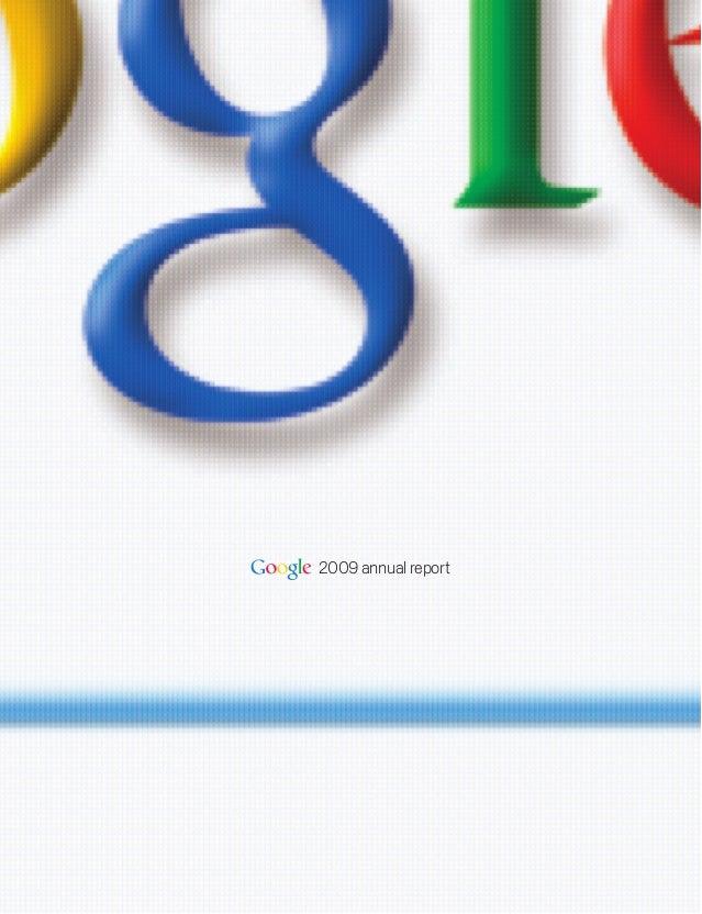 2009 google annual_report