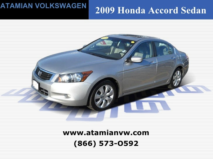 Used 2009 Honda Accord EX-L - Boston, MA