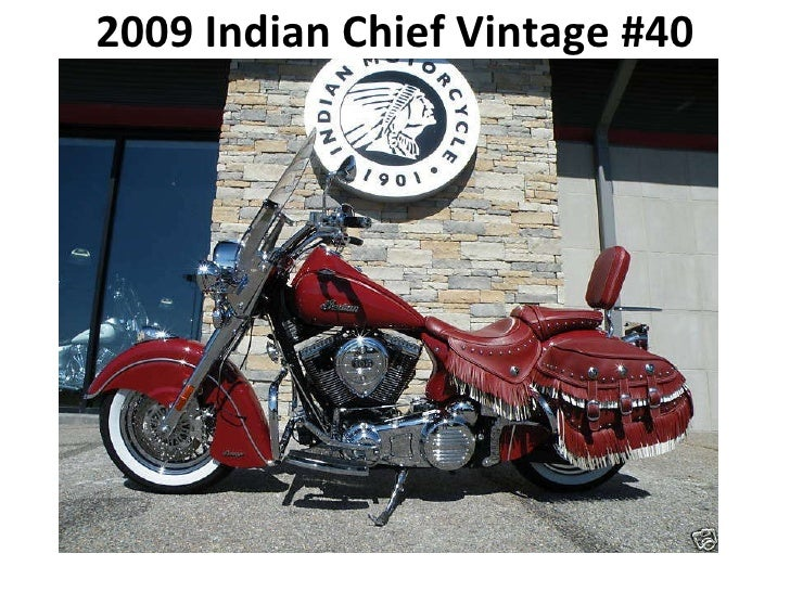 2009 Indian Chief Vintage #40