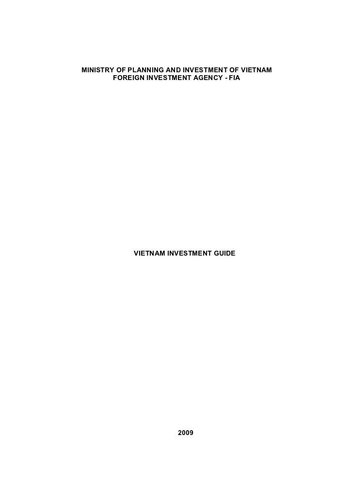 2009 investment guidebook vietnam