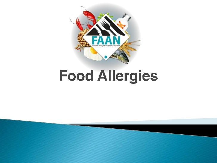 Food Allergies: For Secondary School Students