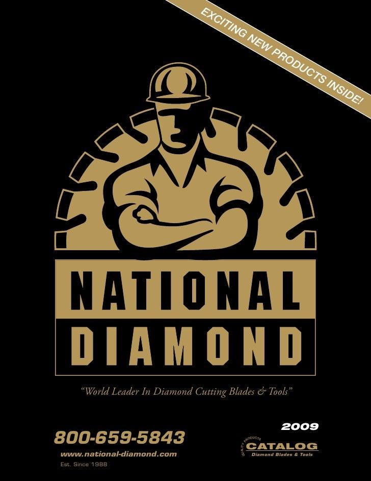 Diamond Tool Catalog