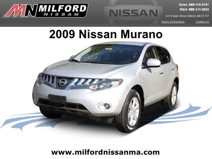 Used 2009 Nissan Murano - Milford Nissan Worcester, MA