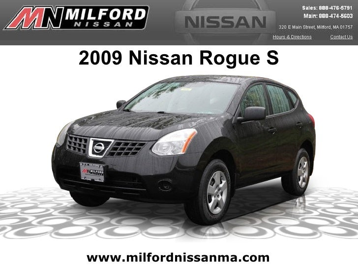 Used 2009 Nissan Rogue S - Milford Nissan Worcester, MA