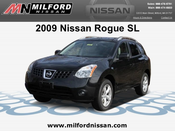 Used 2009 Nissan Rogue SL - Milford Nissan Worcester, MA