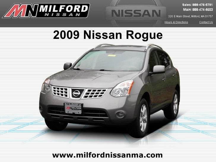 Used 2009 Nissan Rogue - Milford Nissan Worcester, MA