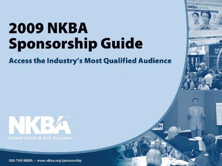 2009 NKBA Sponsorship Guide