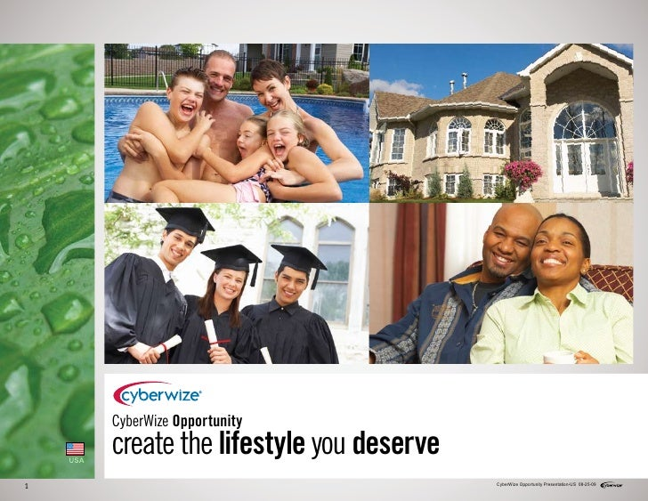 CyberWize Opportunity      USA           create the lifestyle you deserve 1                                            Cyb...