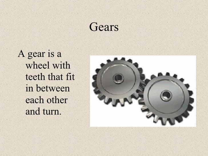 Pulleys And Gears Presentation : Pulleys