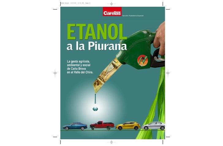 Etanol a la piurana - Sullana - Revista 2009