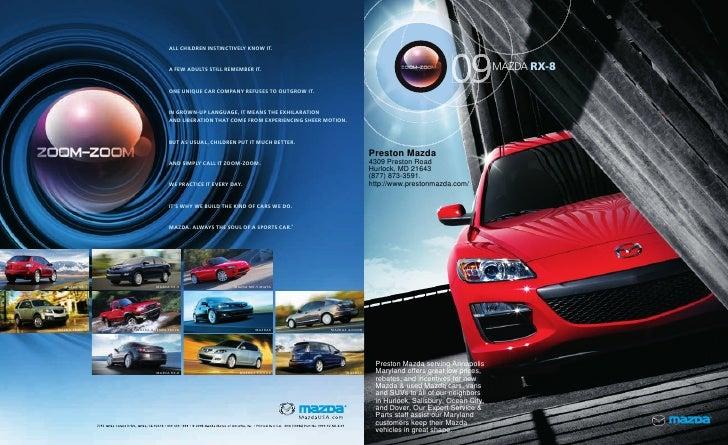 2010 Mazda RX8 Annapolis