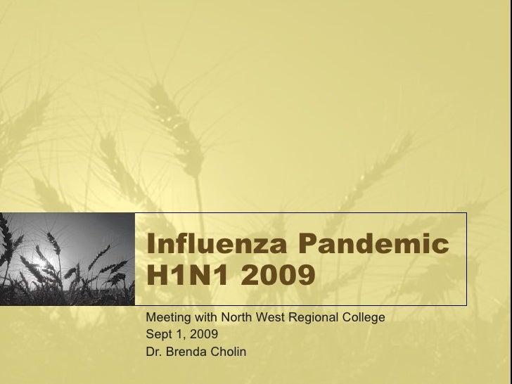 2009 Sept 1 Nwrc H1 N1