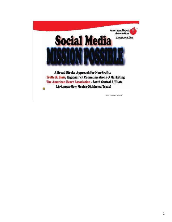 AMA Social Media Presentation