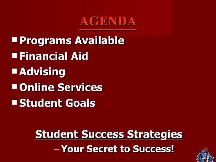 Student Success Essay   Hendrix College