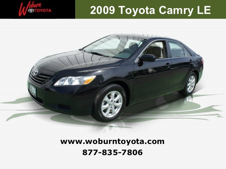 Used 2009 Toyota Camry LE - Boston