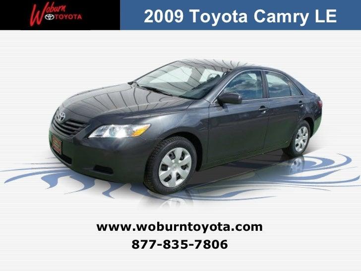 Boston - Used 2009 Toyota Camry LE