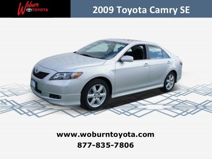 Used 2009 Toyota Camry SE - Boston