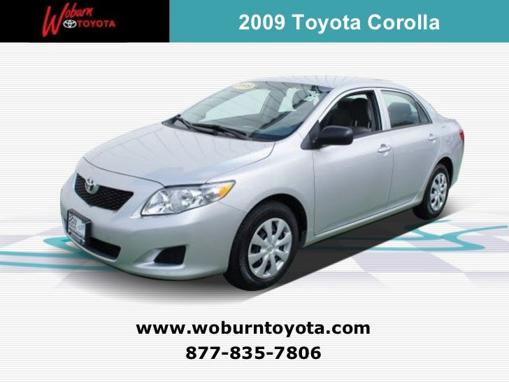 Used 2009 Toyota Corolla - Boston