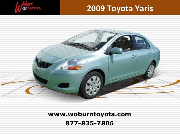 Boston - Used Used 2009 Toyota Yaris