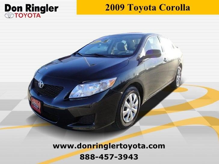 Used 2009 Toyota Corolla - Don Ringler Austin Toyota Dealer