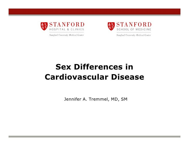 Jennifer Tremmel - Sex Differences In Cardiovascular Disease