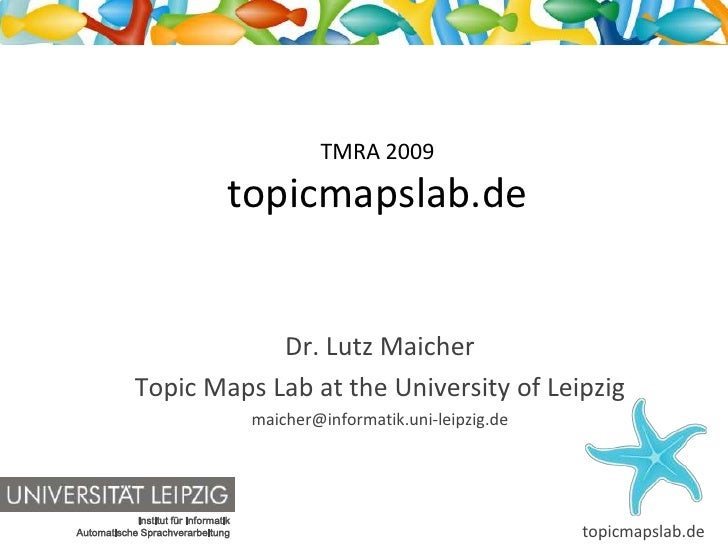 topicmapslab.de - a Topic Maps community portal