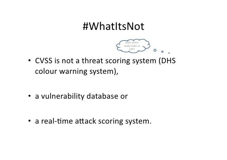 vulnerability management scoring systems