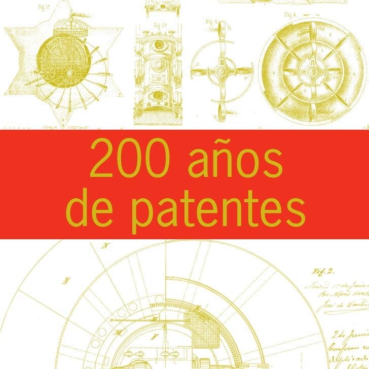 200 añosde patentes