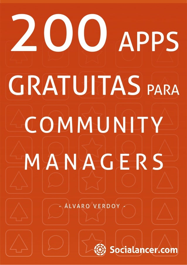 200 apps gratuitas para community manager