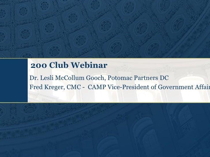 200 club presentation dec 2010 financial reform